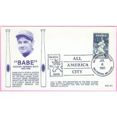 2046 WC115 Babe Ruth, FIRST, UO Baltimore, MD All America City