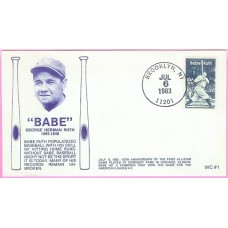 2046 WC119 Babe Ruth, FIRST, UO Brooklyn, NY