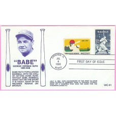 2046 WC105 Babe Ruth, FIRST, Combo #1381