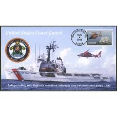 #5008 U.S. Coast Guard; FDCUSA; 01