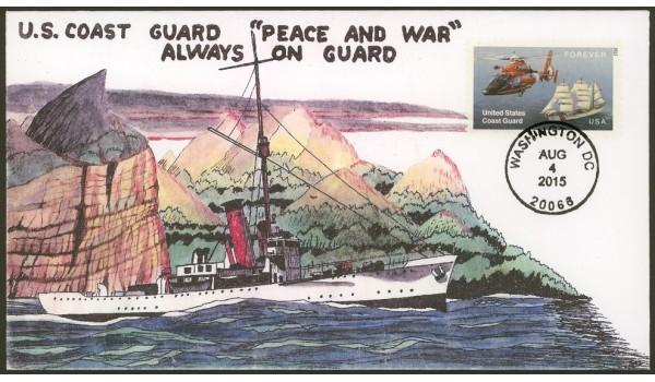 #5008 U.S. Coast Guard; FDCUSA; 03
