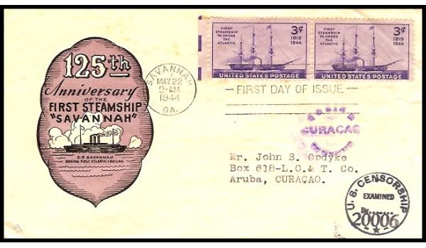 0923 M4 Ioor; CENSORED TO Aruba, CURACAO
