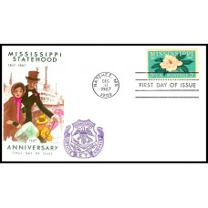 1337 M28 Overseas Mailer; on Jackson cachet