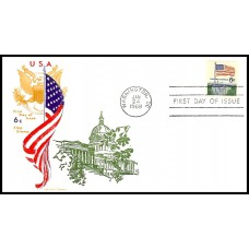 1338 M21 Overseas Mailer; on Jackson cachet