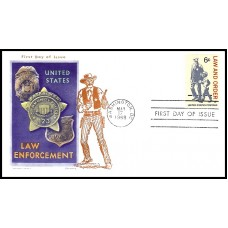 1343 M22 Overseas Mailer; on Jackson cachet