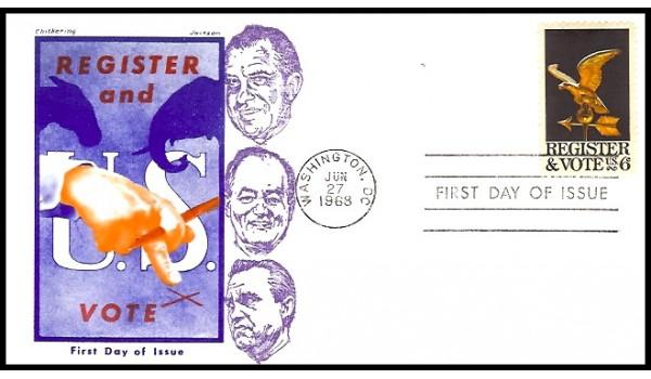 1344 M20 Overseas Mailer; on Jackson cachet