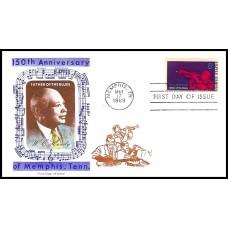 1372 M16 Overseas Mailer; on Jackson cachet