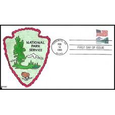 2280 Kribbs Kover; hpd; 40 made; National Park Service