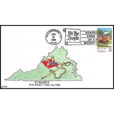 2345 Kribbs Kover; hpd; 40 made; Virginia