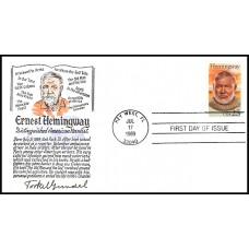 2418 Torkel Gundel; hpd; Signed by Gundel; Ernest Hemingway