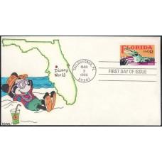 2950 Kribbs Kover; hpd; 7 made; Florida Mickey Mouse