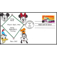 2950 Kribbs Kover; hpd; 8 made; Disney World Baseball Spring Training