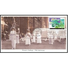 2980 Mystic Stamp Company; Women's Suffrage