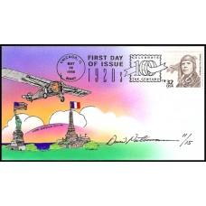 3184M David Peterman; thm hpd; Charles Lindbergh