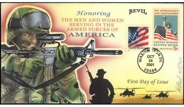 3550 Bevil; hpd; Combo #1320; Armed Forces Tribute