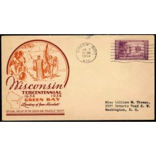 0739 P22b Green Bay Philatelic Society; First