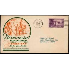 0739 P22d Green Bay Philatelic Society; First