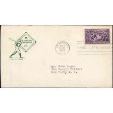 0855 P35 Farnam, with First Day Cover