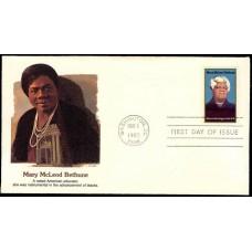 2137 Fleetwood; Mary McLeod Bethune