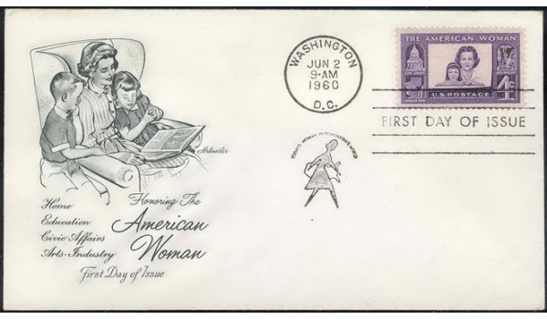 1152 Artmaster, American Woman