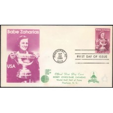 1932 Babe Zaharias, Worlf Golf Hall of Fame, FIRST, with Pinehurst logo
