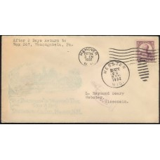 0725 P8a Allen, Chauncey Newell; First; rsc; Hanover, CT AM MC with Webster, NH 10/29/1932 PM HC