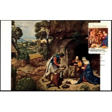 1444 National Gallery of Art; PPC; The Adoration of The Shepherds