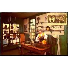 1458 H. S. Crockers Company; PPC; Colonial American Craftsmen - Wigmaker