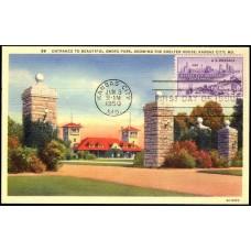 0994 NIM C. T. Art-Colortone; PPC; Swope Park, Kansas City, MO