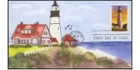 #4791 cagarts; C1; New England Lighthouses - Portland Head Light, Maine