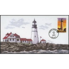 #4791 cagarts; C2; New England Lighthouses - Portland Head Light, Maine