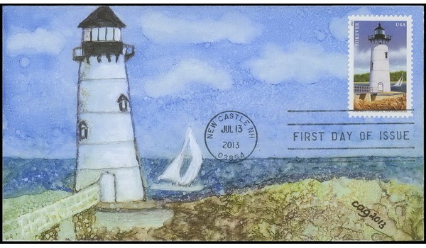 #4792 cagarts; C1; New England Lighthouses - Portsmouth Harbor, New Hampshire