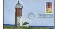 #4794 cagarts; C1; New England Lighthouses - Point Judith, Rhode Island