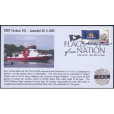 #4310 FOON IV; C5; New York; FDNY Fireboat #343; FDOI