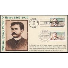 #4705 O.Henry; C1b; Dual FDOI & U/O Asheville, NC Downtown Station